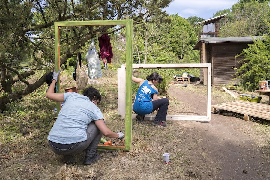 Oasenspiel: Gandersheimer*innen bauen sich einen Gemeinschaftsgarten